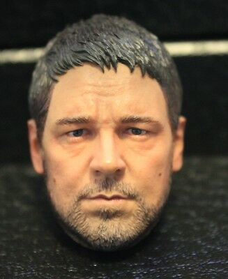 Custom made ! russell crowe gladiator 1/6 figure HEAD ONLY