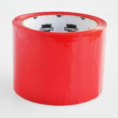 "72 Rolls of 110 Yards 2"" Red Tape - Packing Tape"