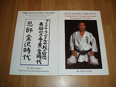 Kanazawa Years & Kanazawa, 10th Dan - 2 books - Shotokan Karate, Martial Arts
