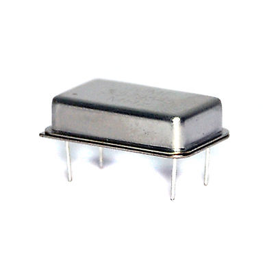 2pc Full size (DIP 14pin package) Crystal Oscillator 10.000MHz 5V 4pin 10MHz