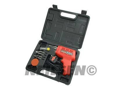 ELECTRIC SOLDERING GUN TOOL KIT 100w For Hobbyist Electrician Solder Tool 1842
