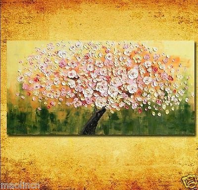 beautiful Large canvas no frame Modern Abstract Art Oil Painting Wall Art Decor
