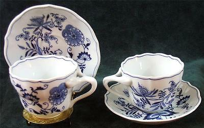 Pair of - BLUE DANUBE - BLUE - CUP's & SAUCER's