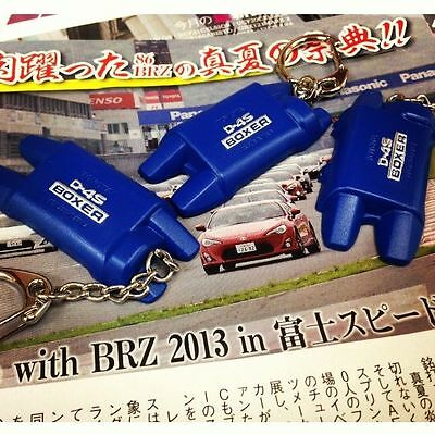 Fits Subaru BRZ Scion FRS FT86 Style Boxer D4S Engine Cover Keychain JDM