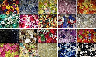 Mixed Buttons In A Choice Of Weight & Colours For Craft, Sewing Buy 3 For 2