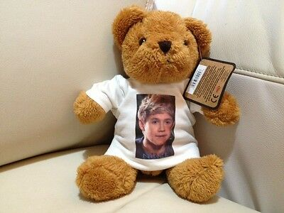 ONE DIRECTION Niall  Horan TEDDY BEAR 1D
