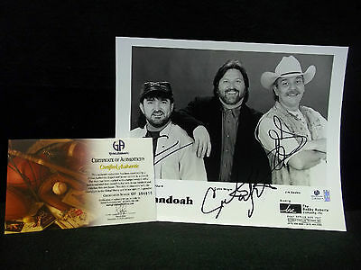 Shenandoah Autographed/Signed 8x10 Photo With COA*Country Music Group-Singers