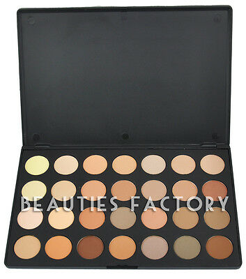 28 Colours Warm Nude Matte Shimmer Eyeshadow Palette Makeup Cosmetic NEW #628B