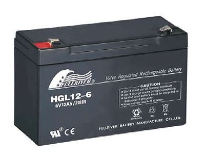 6 Volt 12AH Battery, Suit Electric Toy Car 6V 6volt