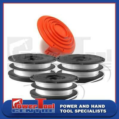 Black /& Decker String Trimmer Strimmer Cover Cap X 2 Spool And Line X 1 GL250