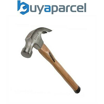 Bahco 427-16 Claw Hammer Hickory Wooden Handle Shaft 16oz 450g