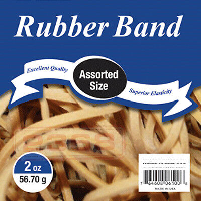Natural Color Superior Elasticity Assorted Sizes Rubber Band Excellent Quality