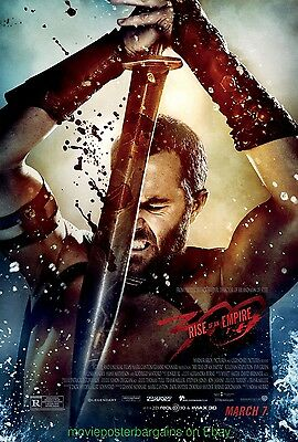 300: RISE OF A EMPIRE MOVIE POSTER Original DS 27x40 Final Rated Style