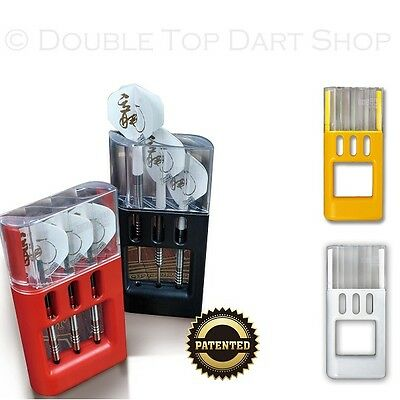 The Solibox Darts Case / Wallet by One80 - Holds Darts Fully Assembled / Loaded
