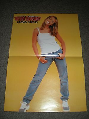 Britney Spears - Original Magazine Pull-Out Poster