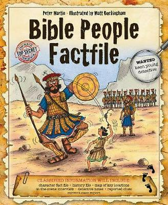 Bible People Factfile by Peter Martin Hardcover Book (English)