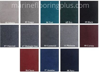 20 oz Cut Pile Marine Outdoor BASS Boat Carpet 8.5' x 25' Color of your choice!