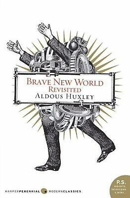 Brave New World Revisited by Aldous Huxley (English) Paperback Book Free Shippin