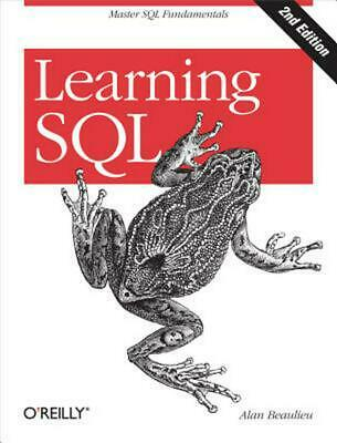 Learning SQL by Alan Beaulieu (English) Paperback Book Free Shipping!