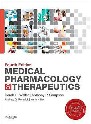 Medical Pharmacology and Therapeutics by Derek G. Waller Paperback Book (English