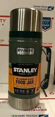 *STANLEY* Classic Wide Mouth 24 oz Stainless Bottle Canteen Thermos 10-01229-014