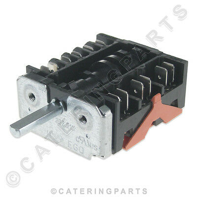 Rsw006 6 Position Rotary Hob Switch Electric Boiling Top Ovens Ego 46.27266.813