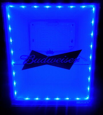 Blue LED LIGHT SET For Mini Fridge 9v Battery *LIGHTS ONLY*