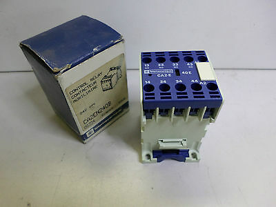TELEMECHANIQUE - Control Relay CA2EN240B 4 pole N/O - 24DC coil  - Brand New