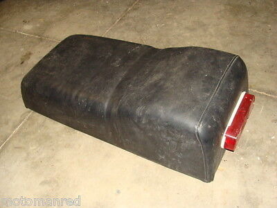 78 Ski Doo Free Air Tnt 440 Skidoo 77? 76? Complete Seat Cover Base Taillight