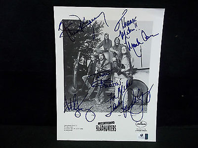 Autographed/Signed 8x10 Photo of The Kentucky Headhunters W/COA-Country Music