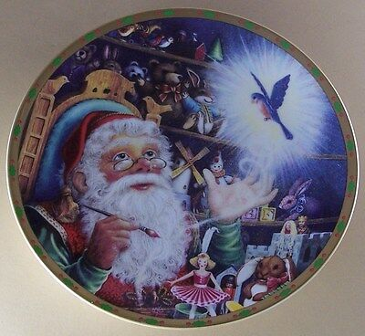 Lenox The Magic of Christmas Plate Collection WONDER OF WONDERS Santa Claus
