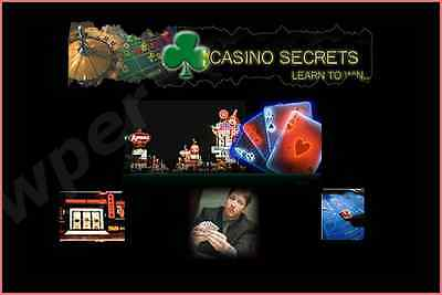 Casino Secrets to winning at Slot Machines Blackjack Roulette Baccarat Craps -CD