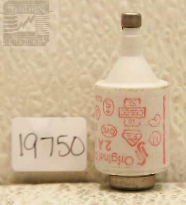 Original  Diazed 5SB 21 Bottle Fuse 500V 2A (Red Label)