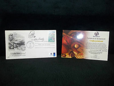 Walter Lantz Autographed First Day Cover with Global COA - WOODY WOODPECKER