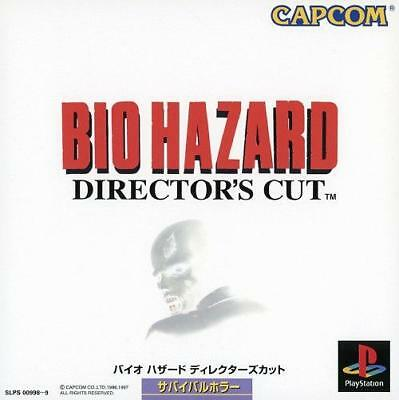 Bio Hazard 1, (Director's Cut), Sony Playstation One PS1, Import Japan Game