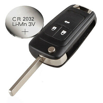 fits Vauxhall OPEL ZAFIRA Mokka INSIGNIA 3 buttons REMOTE KEY CASE + battery