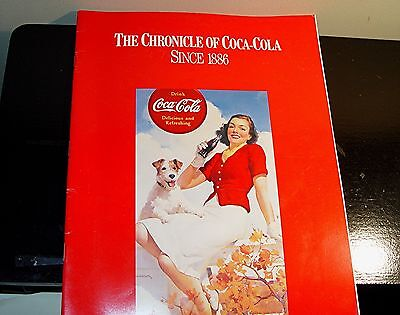 The Chronicle Of Coca-Cola Since 1886 Soft Booklet Reprint, Time Inc