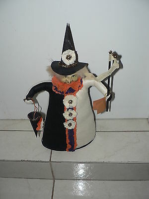 Vintage Modern Halloween Witch Bethany Lowe Designs Figure