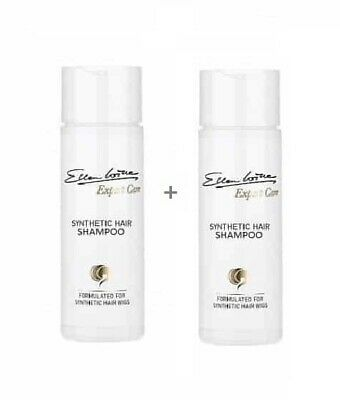2x Shampoo 200ml Ellen Wille synthetik HAIRPOWER Kunsthaar Perücken Haarteile