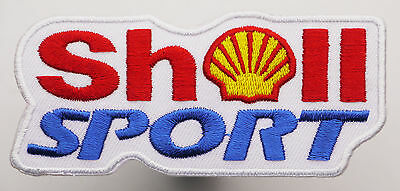 SHELL SPORT Racing Sponsor Iron-On Embroidered Patch - MIX 'N' MATCH - #2H05