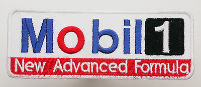 MOBIL 1 Racing Sponsor Iron-On Embroidered Patch - MIX 'N' MATCH - #4H02