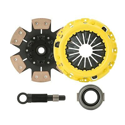 eCLUTCHMASTER Stage 2 Clutch Kit (6 PUCK) Fits 06-08 HONDA CIVIC Si 6SPD K20