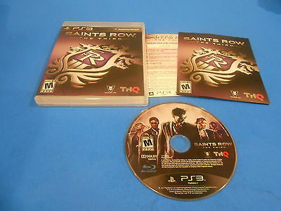 +++ SAINTS ROW THE THIRD Playstation 3 PS3 Game COMPLETE +++