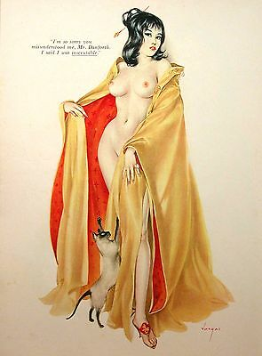 Vintage Geisha Pin Up Girls Retro Burlesque Prints & Posters A3,A4 Sizes