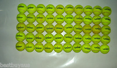 50 Used Diadora Pro Circuit Tennis Balls For Kids, Dogs, Backyard Games Etc