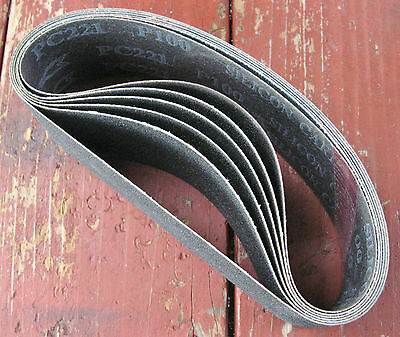 "rle 10 SANDING BELTS SiC  FOR 2.5"" x 6"" EXPANDING DRUM ANY GRIT"
