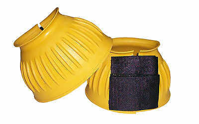 S SIZES L M VELCRO FASTEN RUBBER OVER REACH BOOTS YELLOW COLOR IN XL M Medium