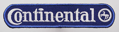 """""""CONTINENTAL"""" Tyres - Sponsor Embroidered Iron-On Patch - MIX 'N' MATCH - #4T13"""