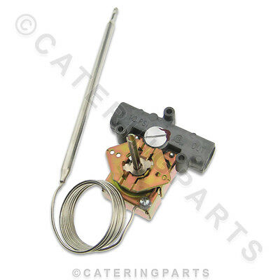 """Ts132 Bleed Type Gas Fryer Thermostat 93°C-190°C Suits Bgor Type Gas Valves 3/8"""""""