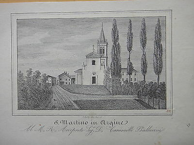 1850 circa-S.MARTINO IN ARGINE-INCISIONE